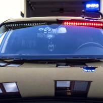 Ilustrační foto - Civilní vůz Audi A8, který mimo jiné odhaluje v Královéhradeckém kraji odcizená vozidla.