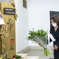 Zpěvačka Marie Rottrová 10. září 2020 v Praze na posledním rozloučení s textařkou Jiřinou Fikejzovou, která zemřela minulý týden ve věku 93 let.