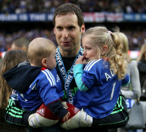 Picture of Petr Čech Son & Daughter, called Damian & Adela