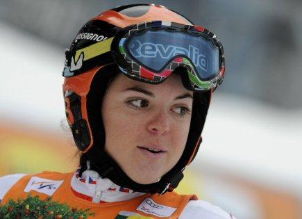 Česká lyžařka Kateřina Pauláthová.