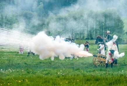 Milovníci historie si 26. dubna u Ostašova u Liberce připomněli bitvu mezi rakouskými a pruskými vojsky, která se tu odehrála 21. dubna 1757 a podle historiků byla hlavním milníkem Sedmileté války.