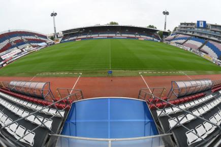 Andrův stadion v Olomouci na snímku z 20. května 2015.