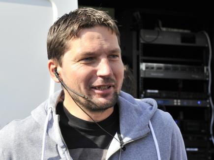 Fotbalový videorozhodčí Roman Hrubeš.