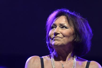 Zpěvačka Marta Kubišová vystoupila 27. října naposledy v Praze. Koncert v Lucerně je součástí jejího rozlučkového turné.