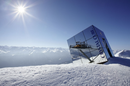 Crystal Cube (c) Fisser Bergbahnen, Foto Müller