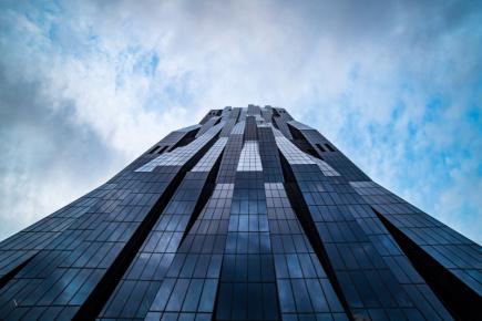 DC Tower ve Vídni.
