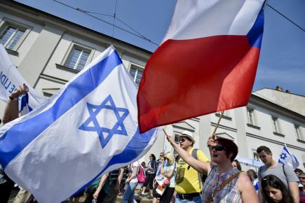 Pochodem dobré vůle centrem Prahy začal 22. dubna 2018 již 15. ročník veřejného shromáždění Kulturou proti antisemitismu.