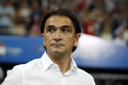 Čtvrtfinále fotbalového MS, utkání Rusko - Chorvatsko v Soči. Chorvatský tenista Zlatko Dalič.