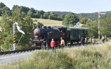 Do železničního skanzenu v Lupěném na Šumpersku převezli 9. července 2018 zrenovovaný služební dvounápravový vagon Daa-k 30 54 940 7 182-5 z vlakového nádraží v Zábřehu.