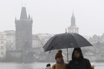 O Vánocích se teploty přes den udrží nad nulou