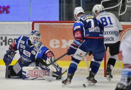 25. kolo ELH: Plzeň zdolala Brno, Karlovy Vary vyhrály 9:1