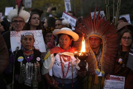 V Madridu začal Pochod za klima, jde v něm i Thunbergová