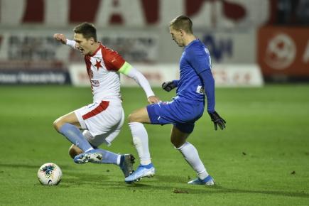 Slavia zvítězila v Liberci 3:0 a vede ligu o 14 bodů