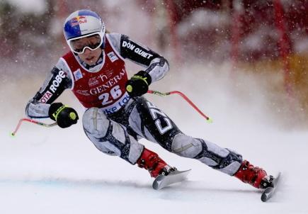 Ledecká slaví první triumf v SP, v Lake Louise vyhrála sjezd