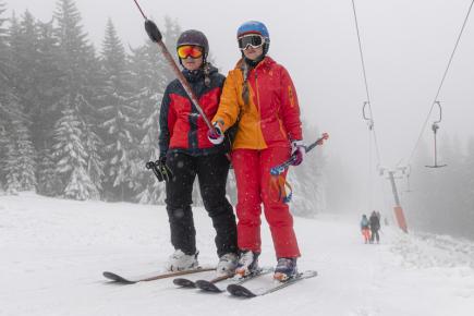V Královéhradeckém kraji začala lyžařská sezona