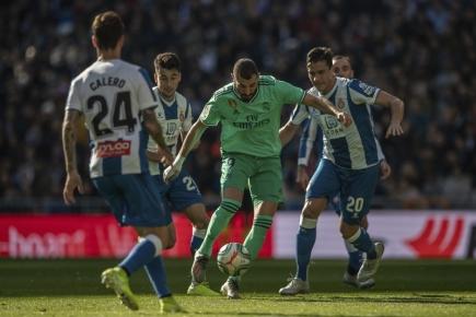 Real Madrid porazil Espaňol a minimálně do večera vede ligu
