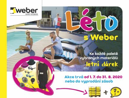 Produkty Weber, které vám usnadní letní rekonstrukci