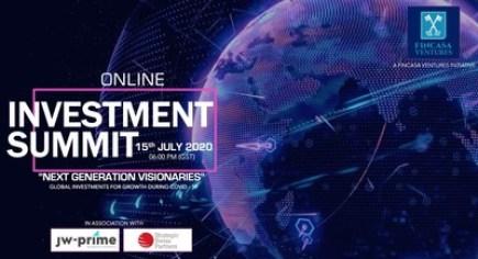 """Společnost Fincasa oznámila konání globálního online investičního summitu s názvem """"Vizionáři nové generace"""""""