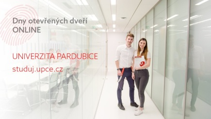 Dny otevřených dveří jsou na Univerzitě Pardubice online