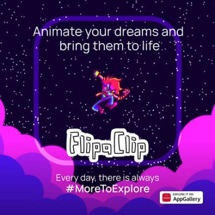 Popusťte uzdu své kreativitě díky aplikaci FlipaClip, která je ode dneška ke stažení na AppGallery