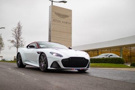 Unikátní Aston Martin DBS Superleggera Concorde Edition ve fondu Engine Classic Cars