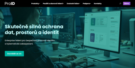 Nástroje pro kyberbezpečnost na novém webu ProID.cz