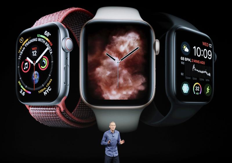 05791548058 Apple představil nové chytré hodinky Apple Watch Series 4.