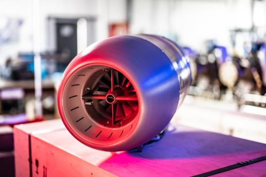 Proudový motor PBS TJ100P