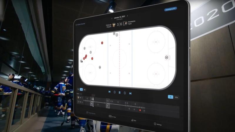Trenéři NHL dostali pro Stanley Cup vylepšený software k detailní analýze vlastní i soupeřovy hry