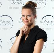 Laureátka Stipendia L´Oréal Pro ženy ve vědě 2013 RNDr. Kateřina Kůsová, Ph.D.