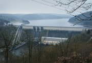 Vodní elektrárna Orlík (na snímku z 21. prosince 2016).