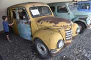 Retro muzeum Na statku v Brně-Dolních Heršpicích vystavuje tisíce exponátů od drobností po automobily, které návštěvníkům přibližují život v 50. až 90. letech minulého století. Na snímku z 18. srpna je vůz Framo 901 z roku 1960.