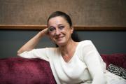 Bývalá místostarostka Prahy 8 Terezie Holovská vystoupila 2. listopadu v Praze na tiskové konferenci ke kandidatuře na prezidenta.