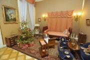 Na zámku v Boskovicích na Blanensku začaly 26. prosince třídenní kostýmované prohlídky. Přichystány jsou ukázky šermu a scénky. Vánoční atmosféru navozuje vybavení dětského pokojíku.