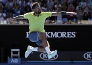 Francouzský tenista Jo-Wilfried Tsonga.