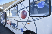V Záluží u Litvínova si mohli zájemci 6. dubna 2018 prohlédnout v Česku jedinou chemickou mobilní laboratoř EDUbus. Dva odborní lektoři zde demonstrovali příklady výuky chemie, fyziky a dalších předmětů s využitím nejnovějších učebních pomůcek.