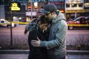Svědci útoku dodávkou na chodce v kanadském Torontu.