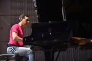 Italský skladatel a dirigent Andrea Morricone při zkoušce na koncert 28. května 2018 na 58. ročníku mezinárodního filmového festivalu pro děti a mládež ve Zlíně.