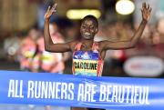 Keňanka Caroline Kipkiruiová zvítězila 8. září 2018 na desetikilometrové trati Birell Grand Prix Praha, závodě v silničním běhu na 10 km.