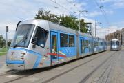 České tramvaje vyrobené společností Škoda Transportation v polské Vratislavi.