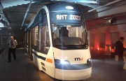 Skupina Škoda Transportation představila 8. října 2018 na slavnostní akci v Mannheimu model nové tramvaje ForCity Smart, s níž uspěla v Německu.