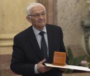Zakladatel sdružení Paměť Miroslav Kasáček převzal 12. listopadu 2018 v sídle Senátu v Praze cenu Ústavu pro studium totalitních režimů (ÚSTR) za mimořádný přínos k reflexi novodobých dějin.
