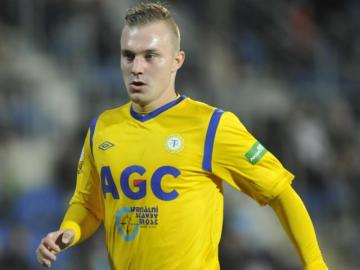 Fotbalista Jakub Hora z Teplic.
