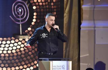 Vyhlášení výsledků 51. ročníku ankety Český slavík 26. listopadu v Praze. Na druhém místě v kategorii zpěváků skončil Tomáš Ortel.