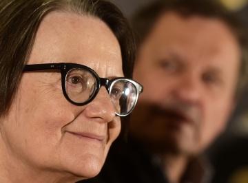 Polská režisérka Agnieszka Hollandová.