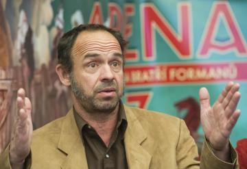 Herec a divadelník Petr Forman.