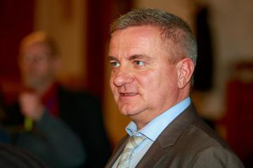 Vedoucí kanceláře prezidenta Vratislav Mynář.