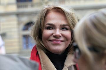 Herečka Dagmar Havlová.