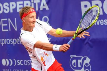 Český tenista Zdeněk Kolář.