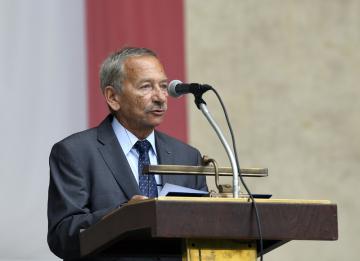 Místopředseda Senátu Jaroslav Kubera.